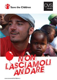 OVS industry per Save The Children con Nicolas Vaporidis