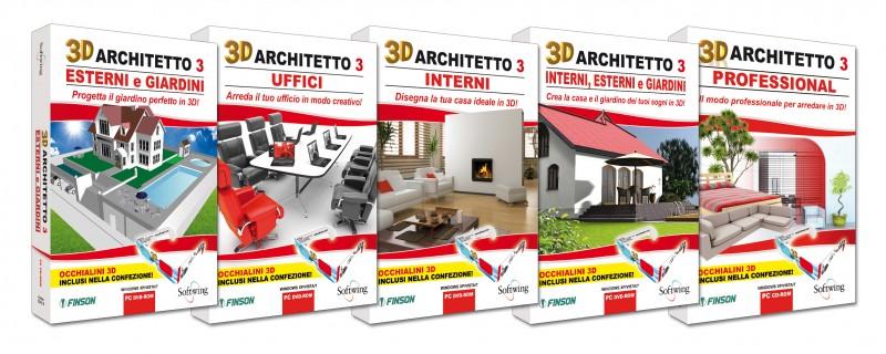 Softwing lancia 3d architetto 3 finson la linea di for Software per arredare
