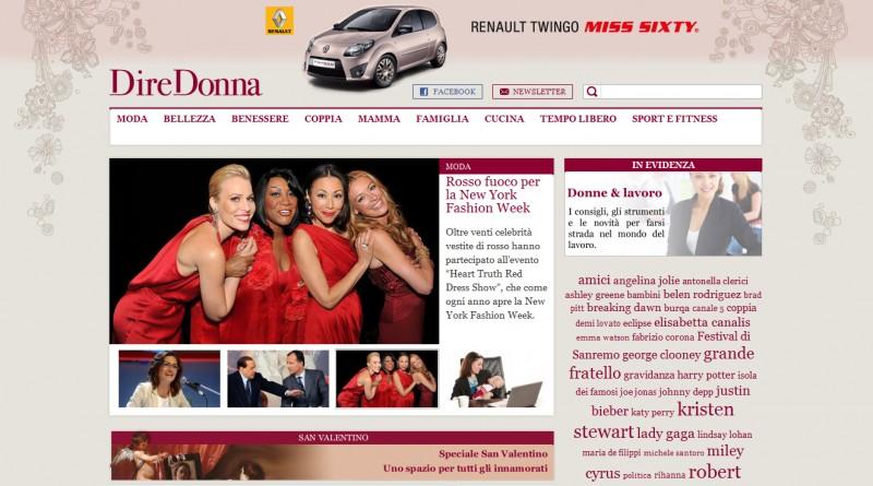Renault Twingo Miss Sixty su DireDonna
