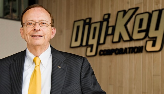 Mark Larson, presidente e COO di Digi-Key Corporation