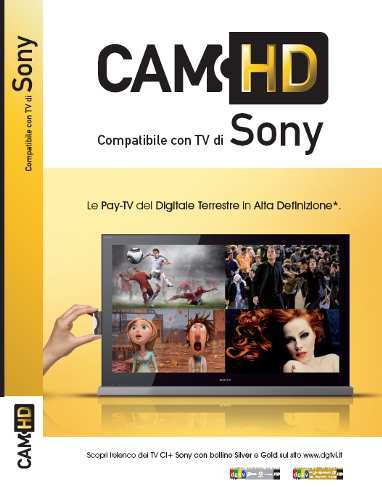 Cam HD per Sony TV BRAVIA