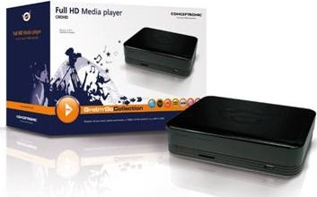 Lettore multimediale CM3HD Full HD di Conceptronic
