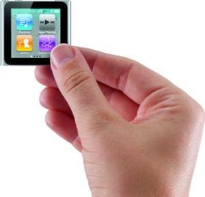 iPod Nano, nuove dimensioni