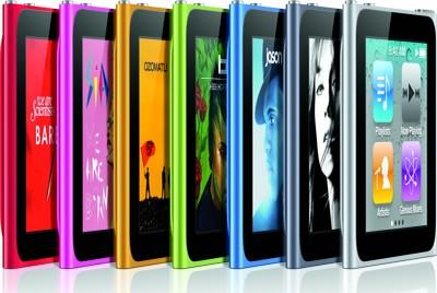 iPod Nano, colori disponibili