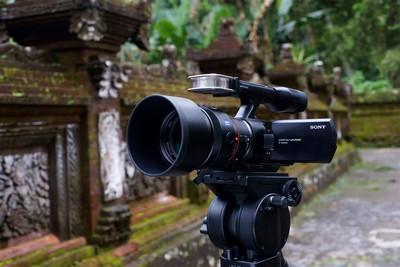 Sony Handycam NEX-VG10E, videocamera HD
