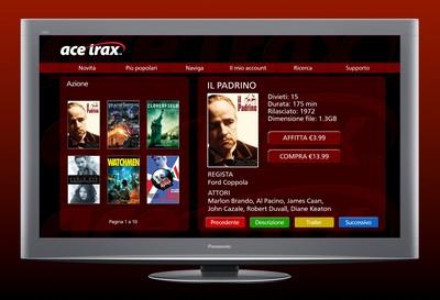 Film on-demand su Tv Viera, da Panasonic e Acetrax