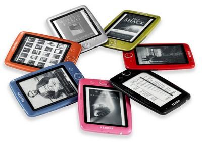 L'ebook reader Cybook Opus, tutti i colori disponibili