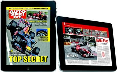iPad con Autosprint
