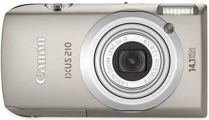 Canon IXUS 2010, colore grigio