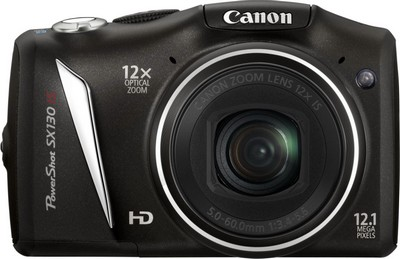 Canon PowerShot SX130 IS, fronte
