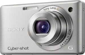 Sony Cyber-Shot DSC-W380, visuale frontale