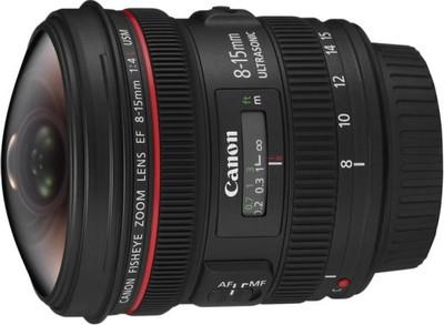 Zoom Canon EF 8-15mm f/4L Fisheye USM