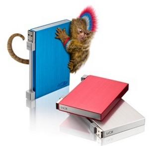 LaCie Rikiki Go, hard disk 1TB