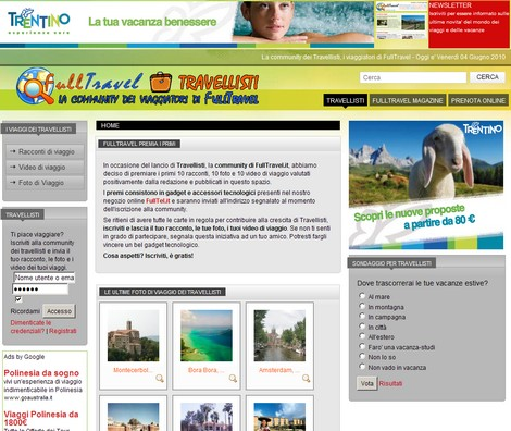 Travellisti, community di FullTravel