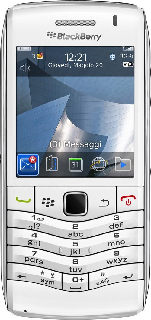 BlackBerry Pearl bianco