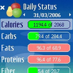Diets, fit-apps su Nokia Ovi Store