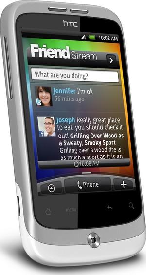 HTC Wildfire, telefono Android molto social