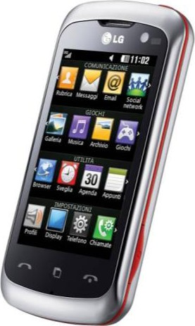 LG Surf 4GB, frontale