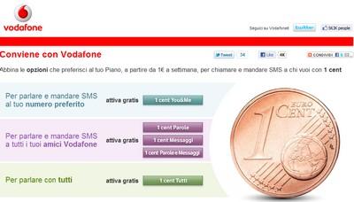 Vodafone 1 cent