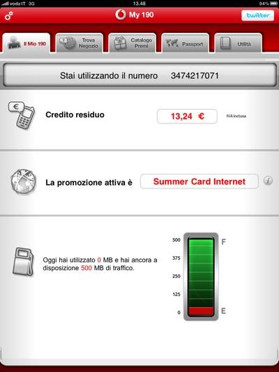 Vodafone My 190 iPad