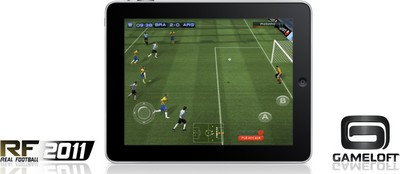 Real Football 2011 su iPad
