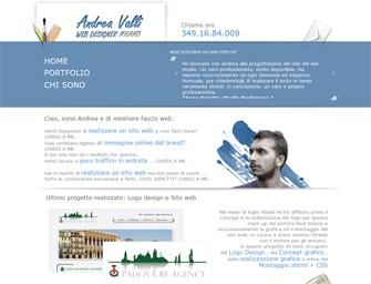 Web designer Milano - homepage